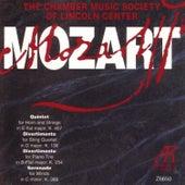 Mozart: Quintet K.407 / Divertimento K.136 / Divertimento K.254 / Serenade K.388 by The Chamber Music Society Of Lincoln Center