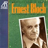 Bloch: Quartets Nos. IV, V by The Portland String Quartet