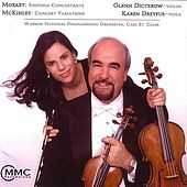 The Music Of Mozart & McKinley by Glenn Dicterow