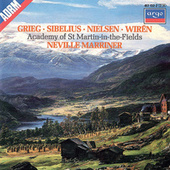 Grieg: Holberg Suite / Sibelius: Rakastava / Nielsen: Little Suite / Wirén: Serenade etc de Sir Neville Marriner