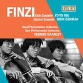 Finzi: Clarinet Concerto & Cello Concerto by Various Artists