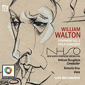 Walton: Symphony No. 2 & Viola Concerto by New Haven Symphony Orchestra