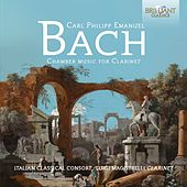 C.P.E. Bach: Chamber Music for Clarinet von Various Artists