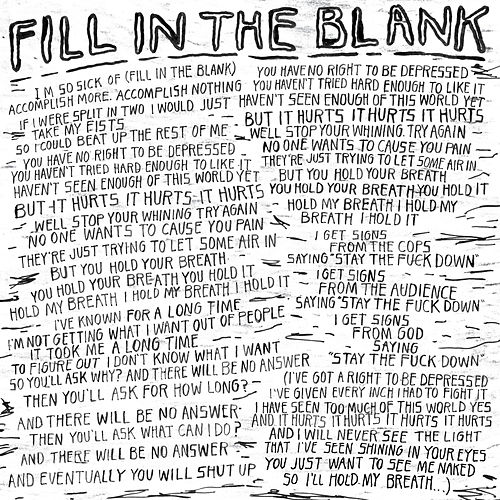 Fill In The Blank By Car Seat Headrest