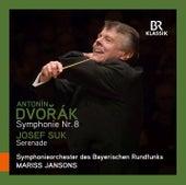 Dvořák: Symphony No. 8 in G Major, Op. 88 - Suk: Serenade für Streicher, Op. 6 von Symphonie-Orchester des Bayerischen Rundfunks