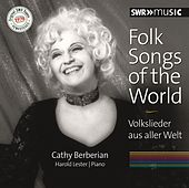 Folk Songs of the World by Cathy Berberian