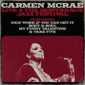 Carmen Mcrae - Live @ The Montreaux Jazz Festival de Carmen McRae