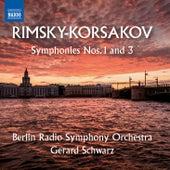 Rimsky-Korsakov: Symphonies Nos. 1 & 3 von Rundfunk-Sinfonieorchester Berlin