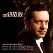 Johann Sebastian Bach: Partita For Solo Violin No. 1 In B Minor, BWV 1002, Partita For Solo Violin No. 2 In D Minor, BWV 1004, Partita For Solo Violin No. 3 In E Major, BWV 1006 by Arthur Grumiaux