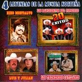 4 Leyendas De La Musica Nortena by Various Artists
