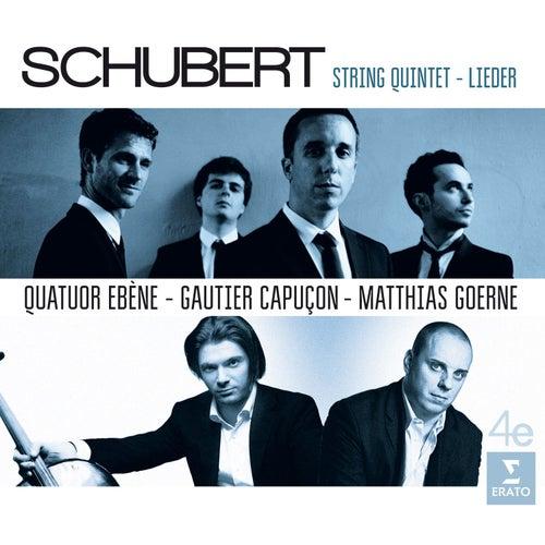 Schubert: Quintet and Lieder by Quatuor Ébène