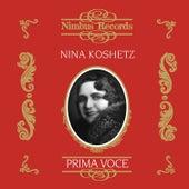 Nina Koshetz (Recorded 1928/9 and 1940) by Various Artists