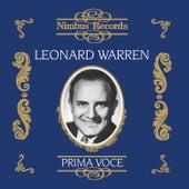 Leonard Warren (Recorded 1947 - 1955) by Various Artists