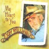 My Heart to You von Don Williams