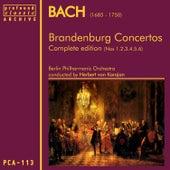 Bach: Brandenburg Concertos Nos 1,2,3,4,5 & 6 von Berlin Philharmonic Orchestra