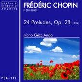Chopin: 24 Preludes fra Géza Anda