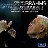 Brahms: Piano Concerto No. 2, Op. 83 & Symphony No. 4, Op. 98 von Various Artists