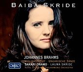 Brahms: Violin Concerto in D Major & 21 Hungarian Dances de Baiba Skride