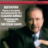 Beethoven: Piano Concertos Nos. 1 & 2 by Sir Colin Davis