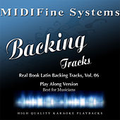 Real Book Latin Backing Tracks, Vol. 06 (Play Along Version) by MIDIFine Systems