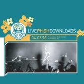 LivePhish 04/05/98 de Phish