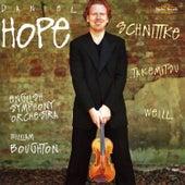 Schnittke, Takemitsu & Weill: Violin Concertos by Daniel Hope (Classical)