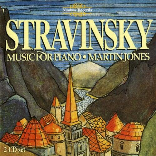 Stravinsky: Piano Music by Martin Jones