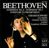 BEETHOVEN, L.: Symphony No. 8 / The Creatures of Prometheus (Schwarz) by Gerard Schwarz