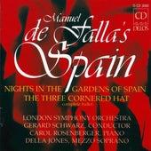 FALLA, M.: Nights in the Garden of Spain / The 3-Cornered Hat (De Falla's Spain) (Schwarz) by Various Artists