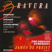 RESPIGHI, O.: Roman Festivals / STRAUSS, R.: Don Juan / LUTOSLAWSKI, W.: Concerto for Orchestra (Oregon Symphony, DePreist) by James DePreist