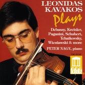 Violin Recital: Kavakos, Leonidas - KROLL, W. / BAZZINI, A. / KREISLER, F. / TCHAIKOVSKY, P. / SCHUBERT, F. / PAGANINI, N. / DEBUSSY, C. by Leonidas Kavakos