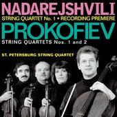 NADAREJSHVILI, Z.: String Quartet No. 1 / PROKOFIEV, S.: String Quartets Nos. 1 and 2 (St. Petersburg String Quartet) by St. Petersburg String Quartet