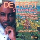 STRAVINSKY, I.: Rite of Spring (The) / The Firebird Suite (1919 version) (Oregon Symphony, DePreist) by James DePreist