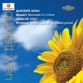 Mozart, Janáček & Pirchner: Wind Quintets de Quintett.Wien