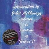 Compositions Julia Achkinazy paintings Gertrud D (April 2016) van Julia Achkinazy