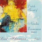 Liszt & Shumann : L'Art de Nicolas Economou, volume 1 de Nicolas Economou