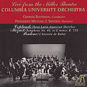 Columbia University Orchestra Plays Copland, Mozart & Poulenc by Columbia University Orchestra
