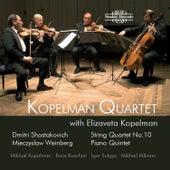 Shostakovich: String Quartet No. 10 - Weinberg: Piano Quintet by Various Artists