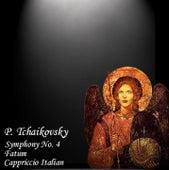 Tchaikovsky: Symphony No. 4, Fatum & Capriccio Italien de USSR State Symphony Orchestra