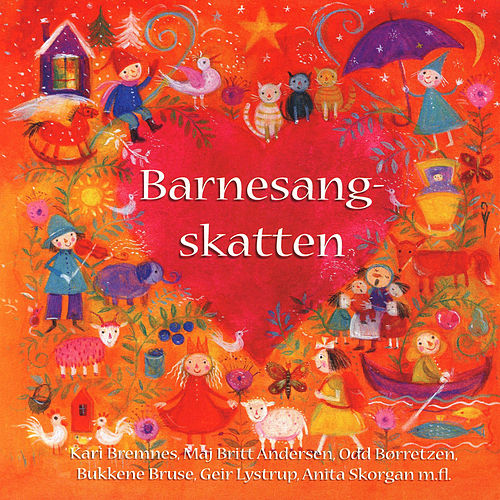 Barnesangskatten by Various Artists