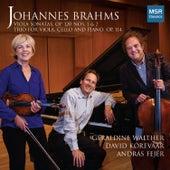 Johannes Brahms: Viola Sonatas Op. 120, Nos. 1 & 2; Trio, Op. 114 by David Korevaar