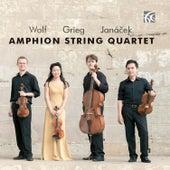 Wolf, Grieg & Janáček: String Quartets de Amphion String Quartet