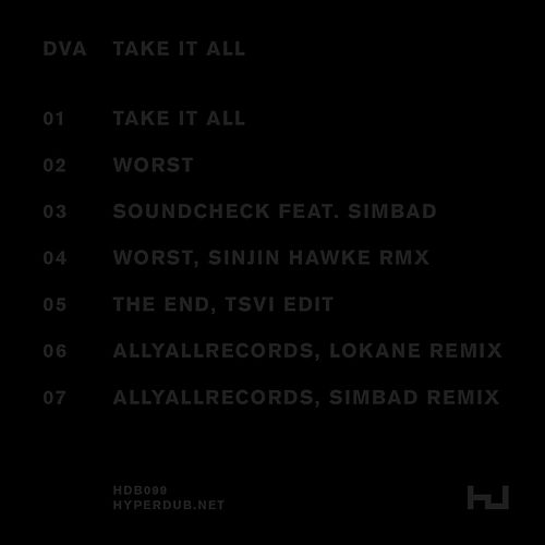 Take It All Ep by (Scratcha) DVA