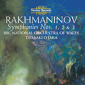 Rachmaninoff: Symphonies Nos. 1, 2 & 3 by BBC National Orchestra Of Wales