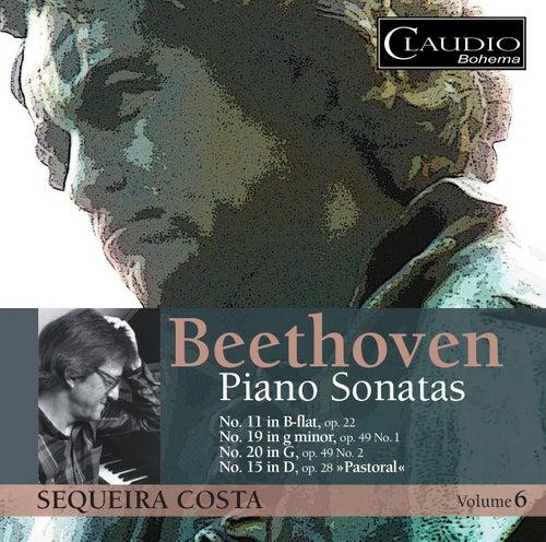 Beethoven: Piano Sonatas, Vol. 6 by Sequeira Costa