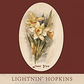 Just You by Lightnin' Hopkins