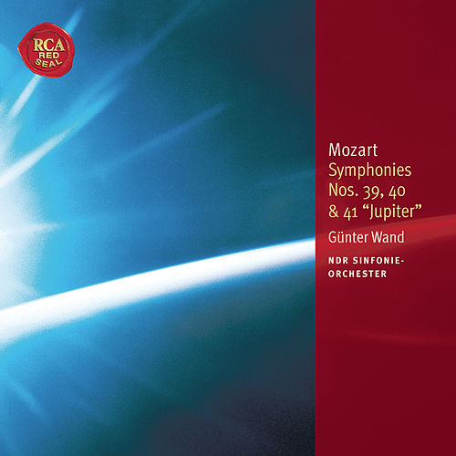 Mozart: Symphonies Nos. 39, 40 & 41: Classic Library Series by Günter Wand