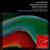 Gennady Rozhdestvensky: Violin Works By Sibelius, Glazunov and Schumann de David Oistrakh