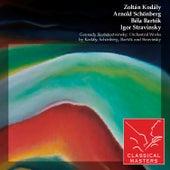 Gennady Rozhdestvensky: Orchestral Works By Kodály, Schönberg, Bartók and Stravinsky by Various Artists