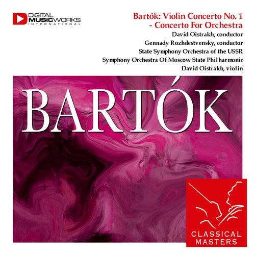 Bartók: Violin Concerto No. 1 - Concerto For Orchestra by Various Artists